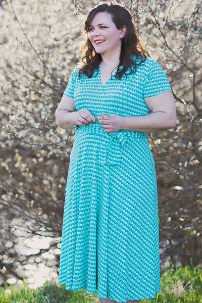 Margaret Dress in Cottage View by Karina Dresses
