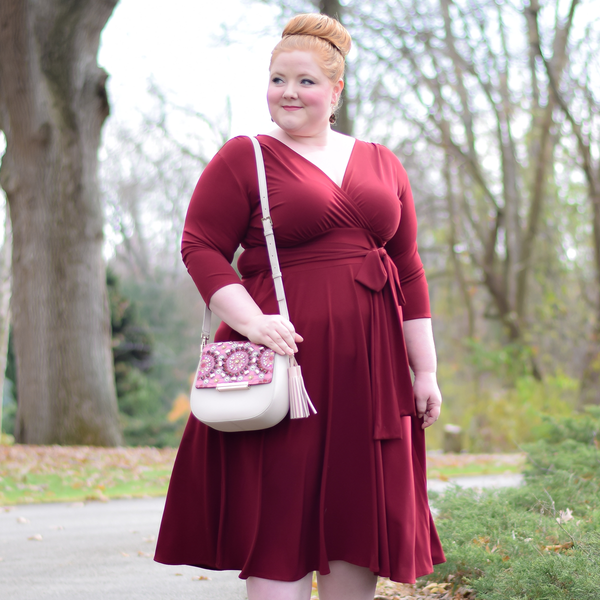 Margaret Dress in Crimson by Karina Dresses