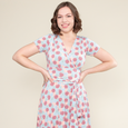 Margaret Dress in Dahlia by Karina Dresses
