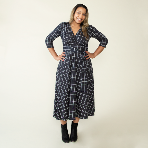 Margaret Dress in Paycheck by Karina Dresses