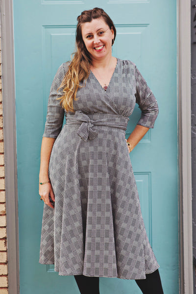 Margaret Dress in Plaid Possibilities by Karina Dresses