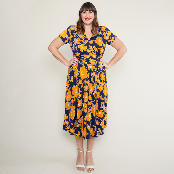 Margaret Dress in Rio by Karina Dresses