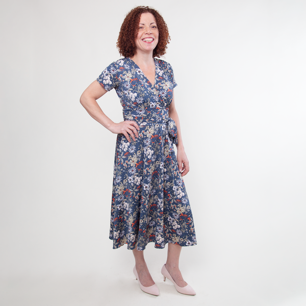 Margaret Dress in Sweet Pea by Karina Dresses