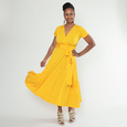 Margaret Dress in Sunshine Dot by Karina Dresses