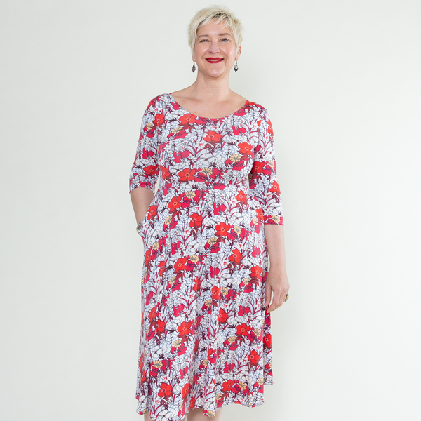 Maria Dress in Aloha by Karina Dresses