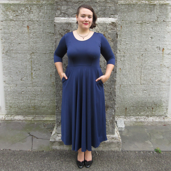 Maria Dress in Navy by Karina Dresses