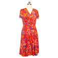 Megan Dress in Bali by Karina Dresses. The perfect travel dress. Made in the USA.