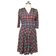 Megan Dress in Plaid Perfection by Karina Dresses