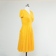 Megan Dress in Sunshine Dot by Karina Dresses