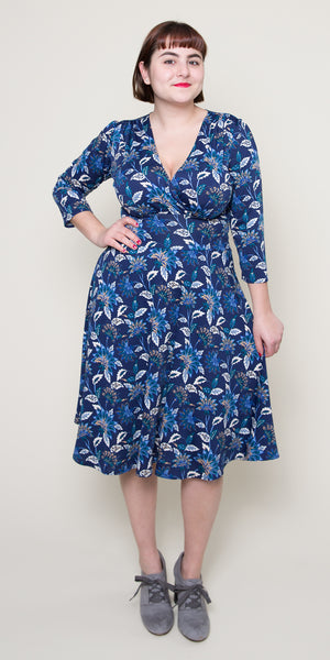 Megan Dress in Sapphire Song