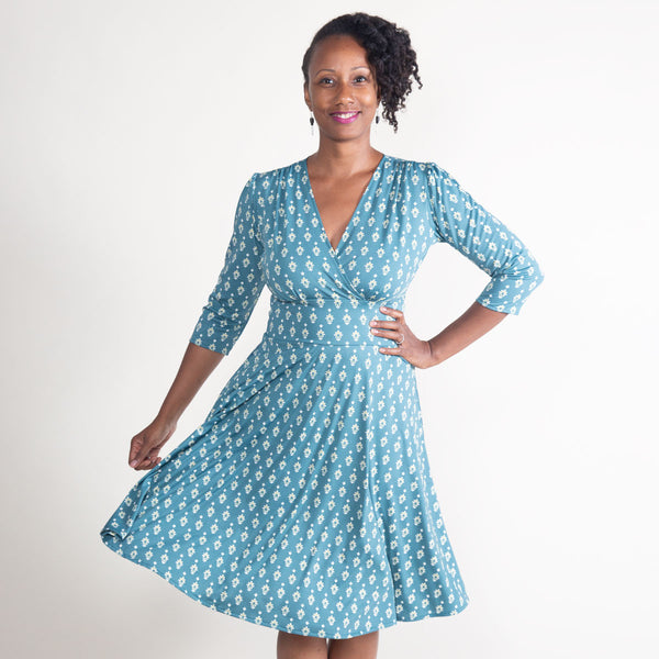Megan Dress in Carriage House by Karina Dresses