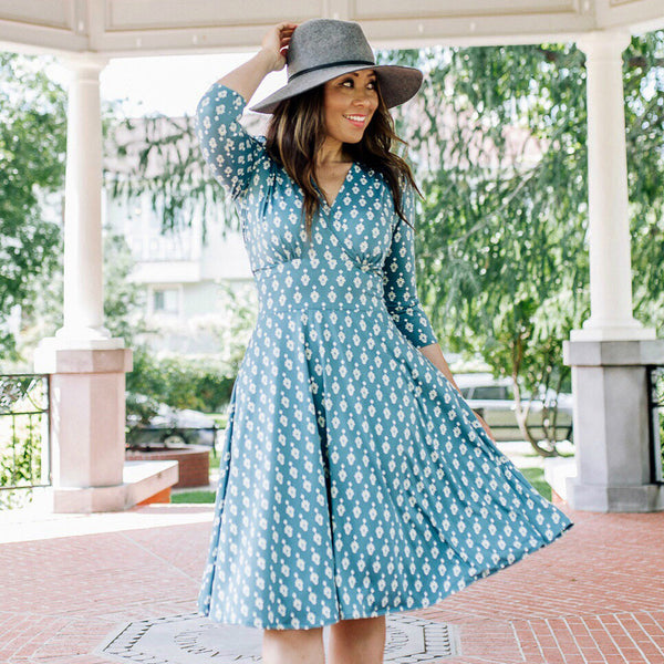 Megan Dress in Country Estate by Karina Dresses