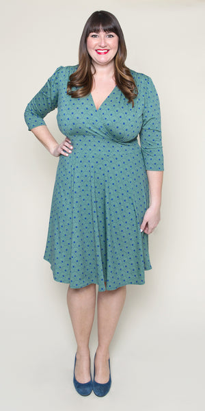 Megan Dress in Spring Daisy