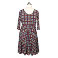 Naomi Dress - Plaid Perfection