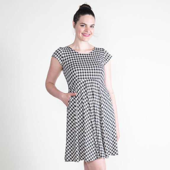 Naomi Dress in Carriage House by Karina Dresses
