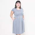 Naomi Dress in Dove Dots by Karina Dresses