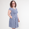 Naomi Dress in Gingham by Karina Dresses