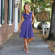 Nora Dress in Amethyst by Karina Dresses