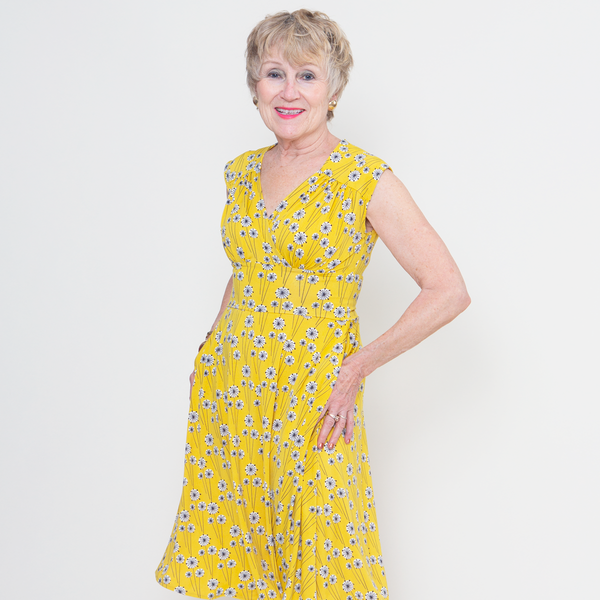 Nora Dress - Goldenrod