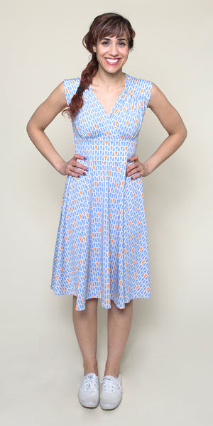 Nora Dress in Gum Drops by Karina Dresses