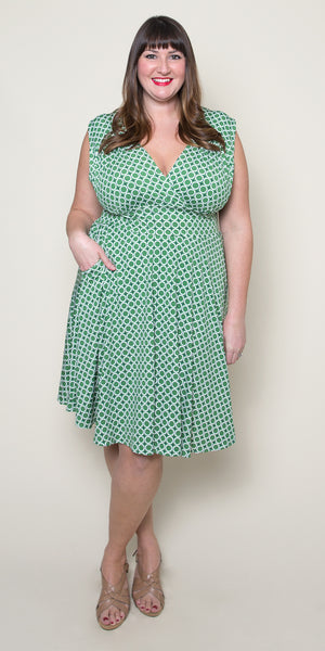 Nora Dress in Mint Maritime Modern