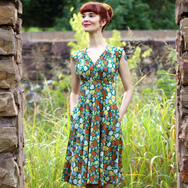 Nora Dress in Meadow by Karina Dresses