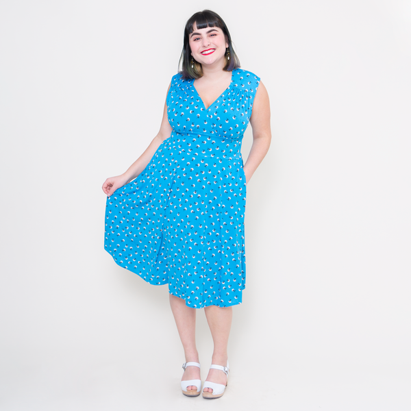 Nora Dress in Poolside by Karina Dresses