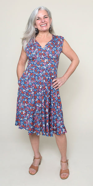 Nora Dress in Wildflowers by Karina Dresses