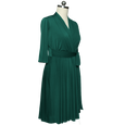 Ruby Dress - Forest Green