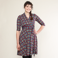 Ruby Dress in Plaid Perfection by Karina Dresses