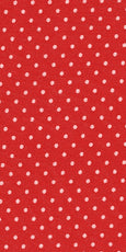 Karina Dresses: Red with White Pin Dots