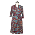 Ruby Dress - Plaid Perfection