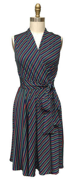 Ruby Dress in Mod Stripe
