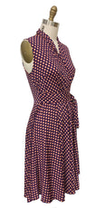 Ruby Dress in Almond Dots by Karina Dresses