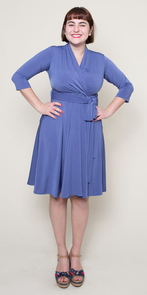 Ruby Dress - Bonjour Blue