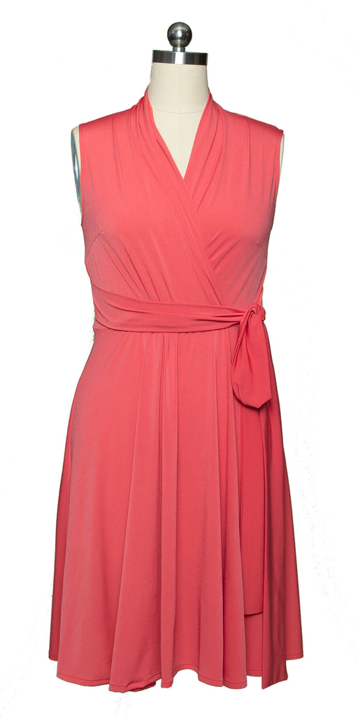 Ruby Dress - Coral