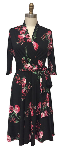 Ruby Dress - Evening Bouquet