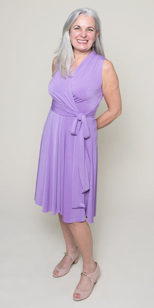 Ruby Dress in Lilac by Karina Dresses