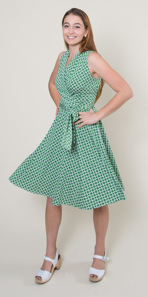 Ruby Dress in Mint Maritime Modern