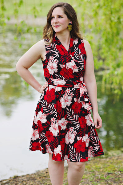 Ruby Dress in Tropical Nights by Karina Dresses