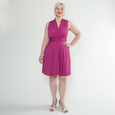Ruby Dress in Sangria Dot by Karina Dresses