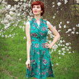 Ruby Dress in Secret Garden by Karina Dresses