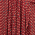 Ruby Dress - Wine Deco Squares