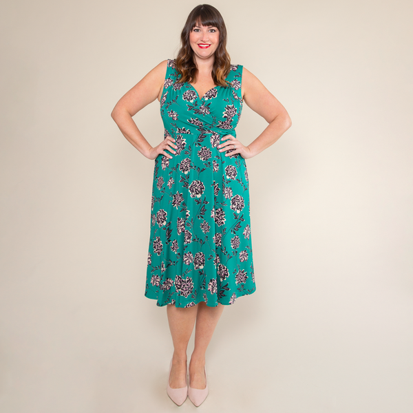 Tara Dress in Secret Garden by Karina Dresses