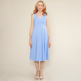 Tara Dress - Forget Me Not Dot