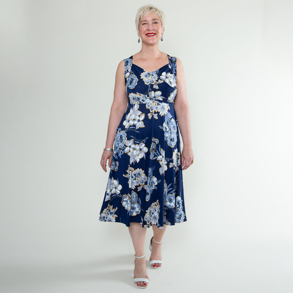 Tara Dress in Lovely Day by Karina Dresses
