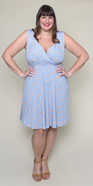 Tina Dress in Gum Drops by Karina Dresses