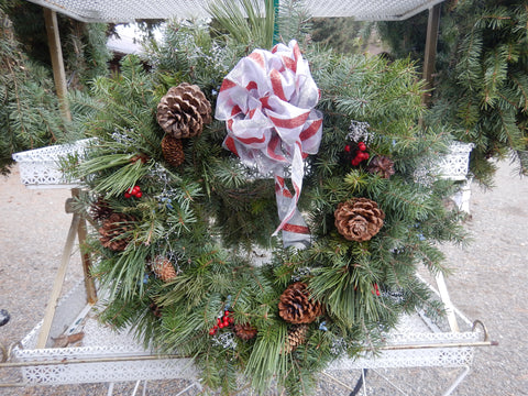Mixed Holiday Wreath