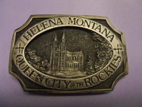 St. Helena Cathedral Buckle