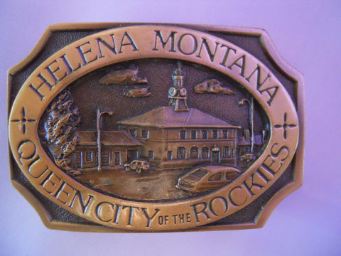 Northern Pacific Depot Buckle
